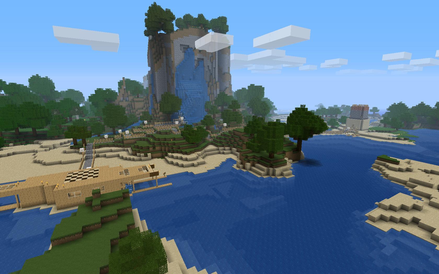 To live and die in minecraft gamegasm - Tafel lang eiland huis van de wereld ...